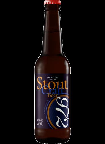 972 Stout sör 0.33L