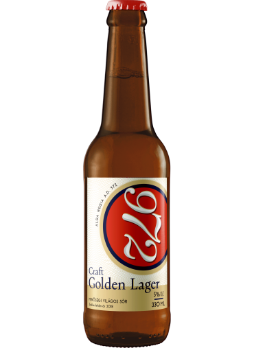 972 Golden Lager világos sör 0.33L