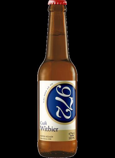 972 Witbier búzasör 0.33L